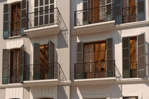 Old town palace,Town house,Penthouse,Semidetached en Palma Oldtown - 36718